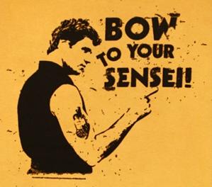 bow to your sensei
